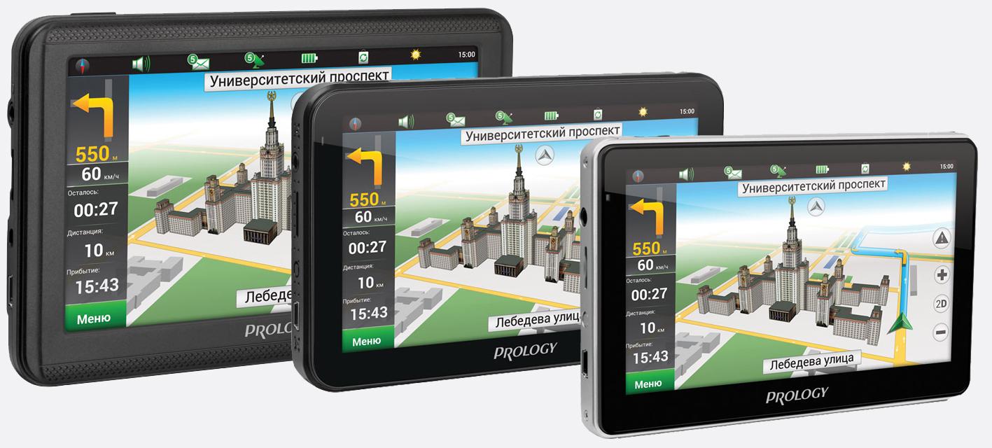 Портативная навигационная система PROLOGY iMap