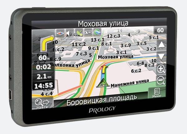 Портативная навигационная система PROLOGY iMap-536T