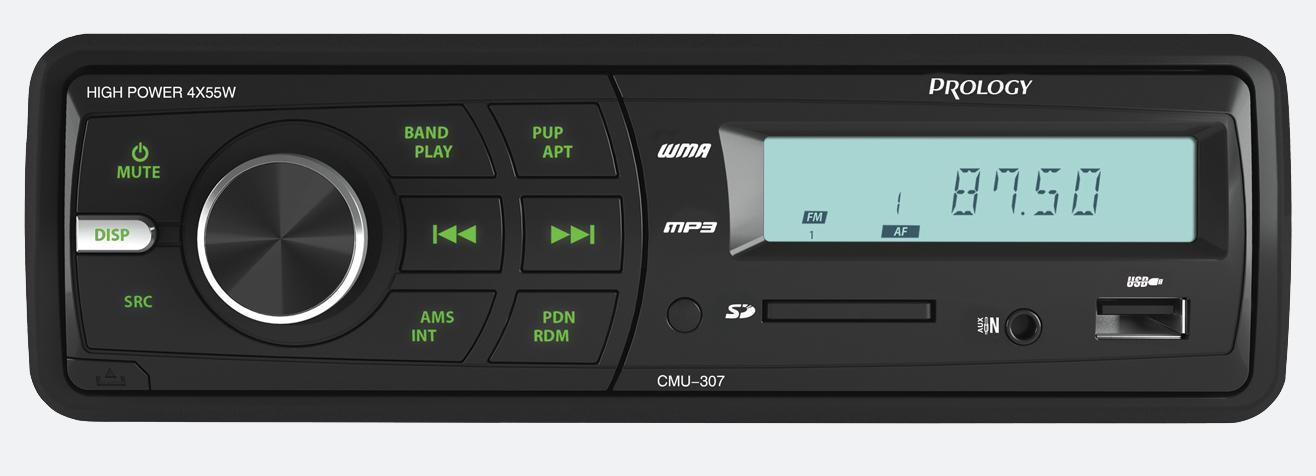FM/УКВ SD/USB ресивер PROLOGY CMU-307