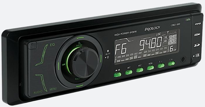 FM/УКВ SD/USB ресивер PROLOGY CMU-500 v.2