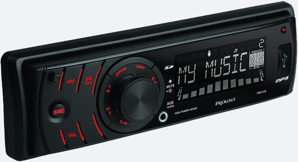 FM/УКВ SD/USB ресивер PROLOGY CMU-520