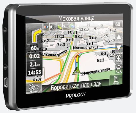 Портативная навигационная система с регистратором PROLOGY iMap-580TR